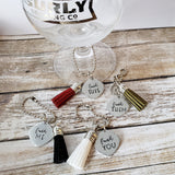 Fuck Me Themed Wine Charms