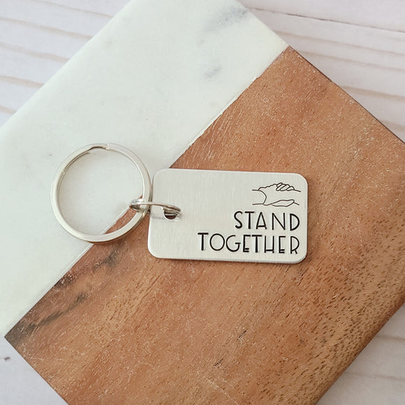 Stand Together Keychain