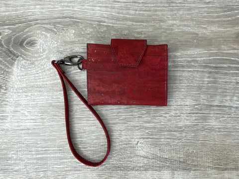 Scarlet Key Fob Wallet