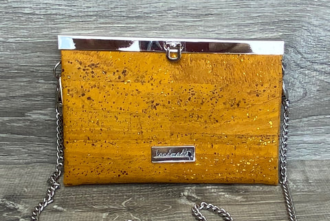 Mustard Cork Roxy Convertible Clutch