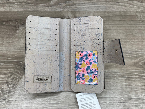 Grey Nicole Cork Wallet