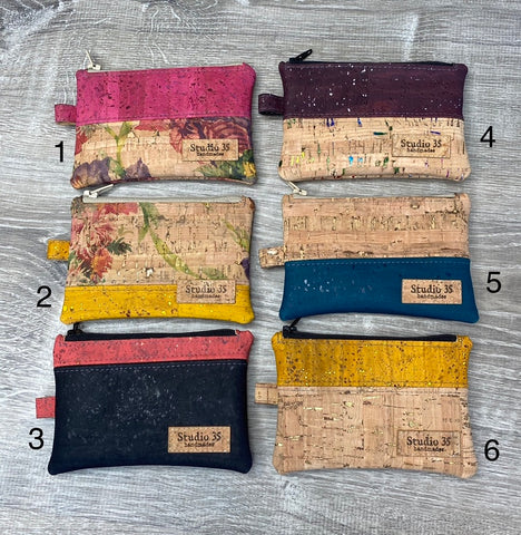 Cork Change or Credit Card Wallet