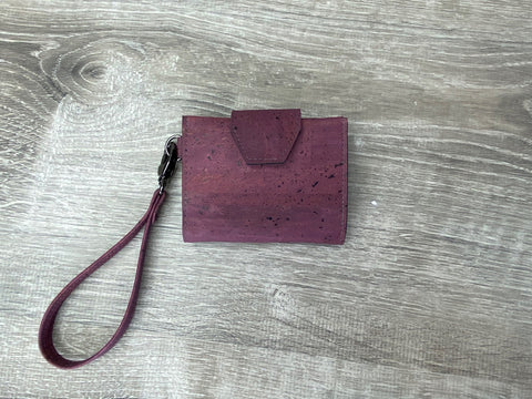 Purple Key Fob Wallet