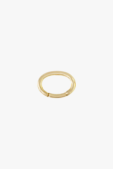 Oval Clasp in Gold