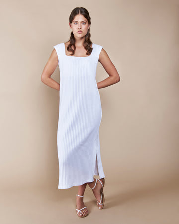 Bogota Dress White