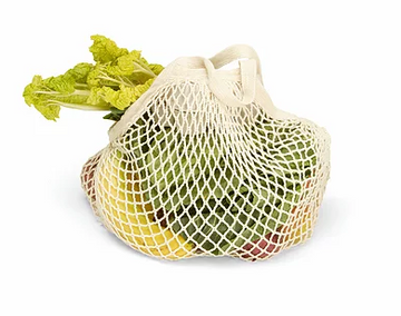 Organic Short-Handled String Bag
