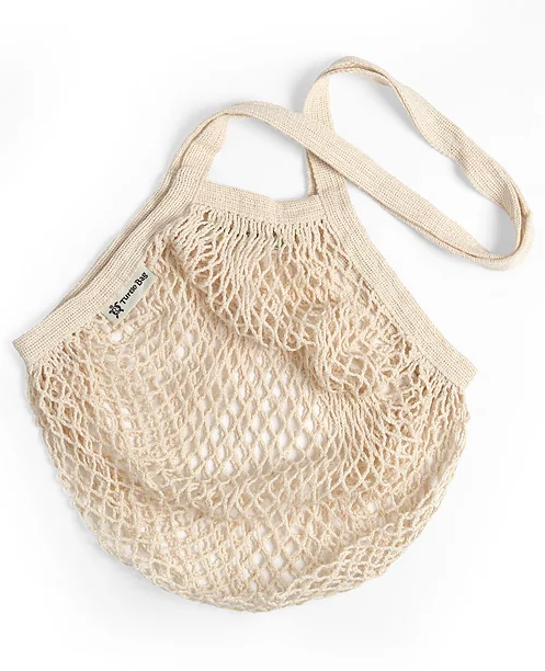 Organic Long-Handled String Bag
