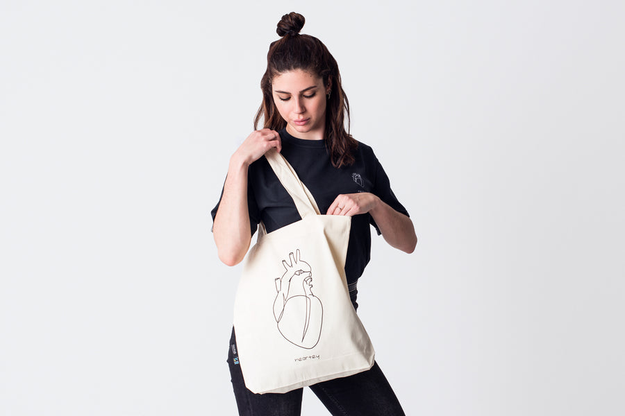 Tote Bag Heartey