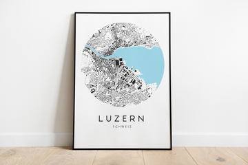 Luzern City Map