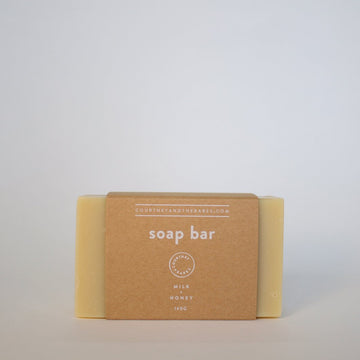 Milk + Honey Soap Bar
