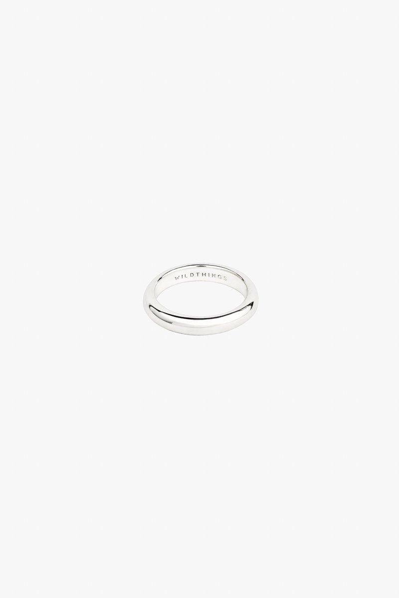 Pebble Ring in Silver