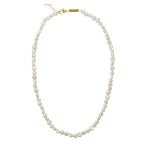 Freshwater Pearl Necklace in White