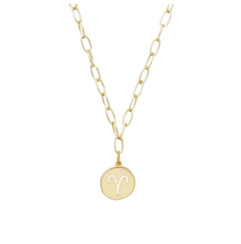 Horoscope Charm Necklace - Aries