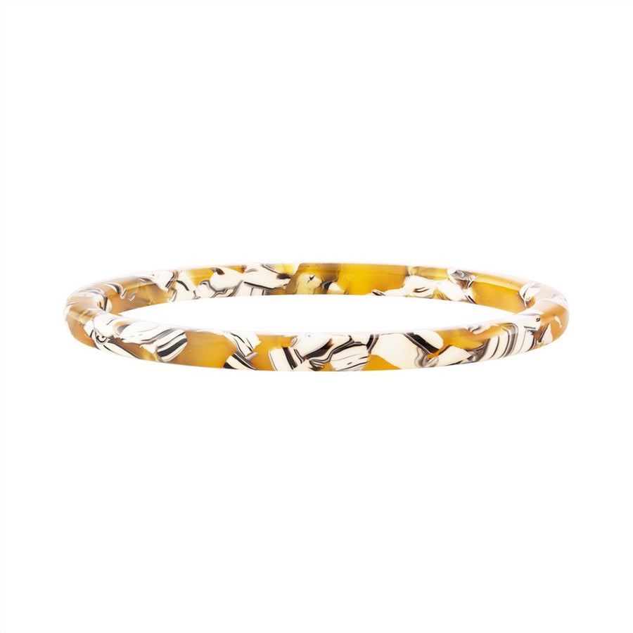 Thin Bangle in Calico