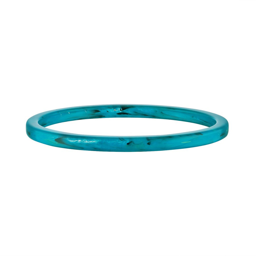 Square Bangle in Jade