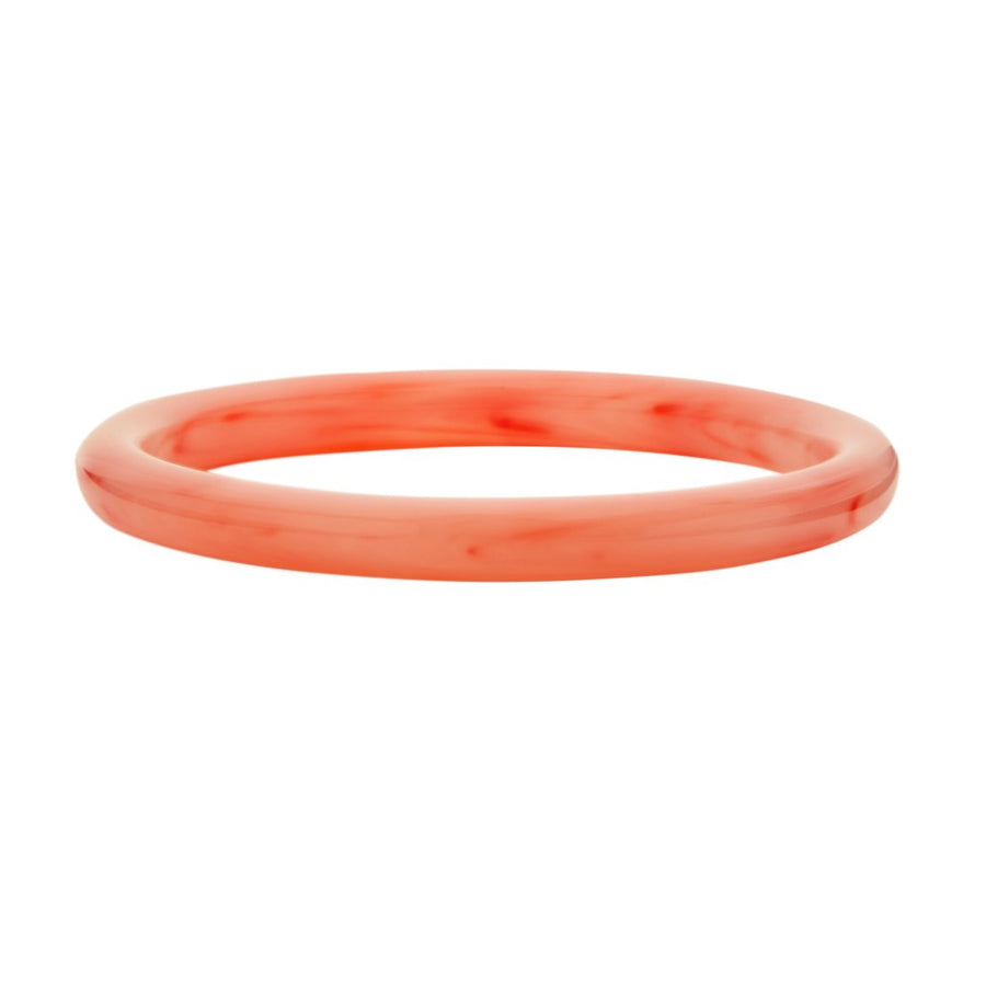 Statement Bangle in Bright Pink