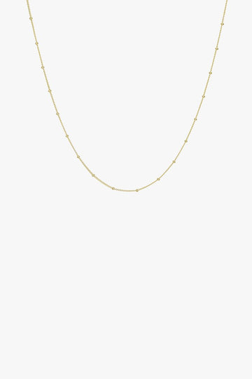 Stud Chain in Gold