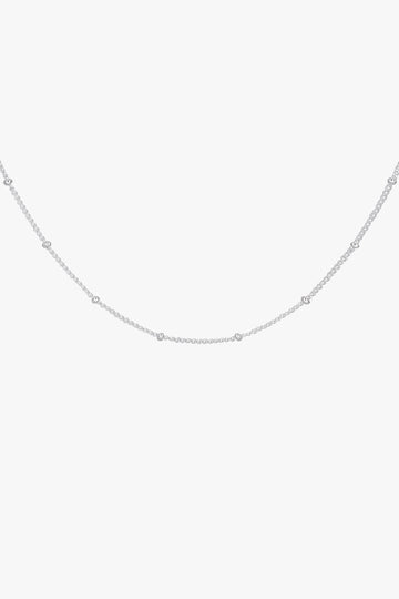 Stud Chain in Silver