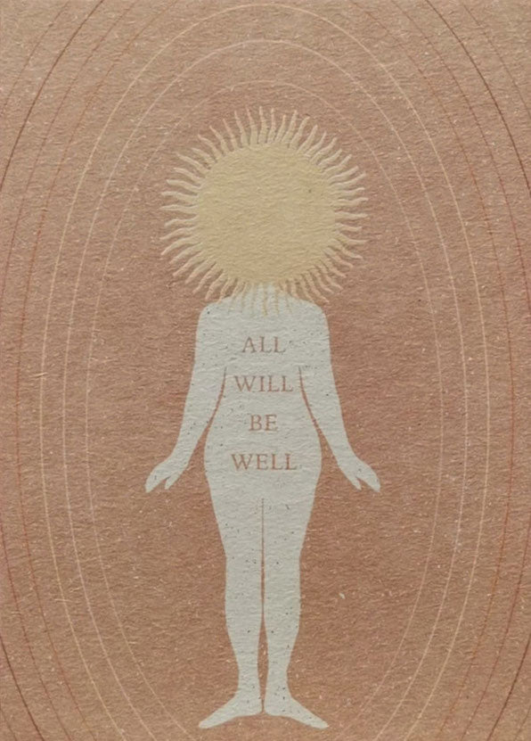All Will Be Well Card