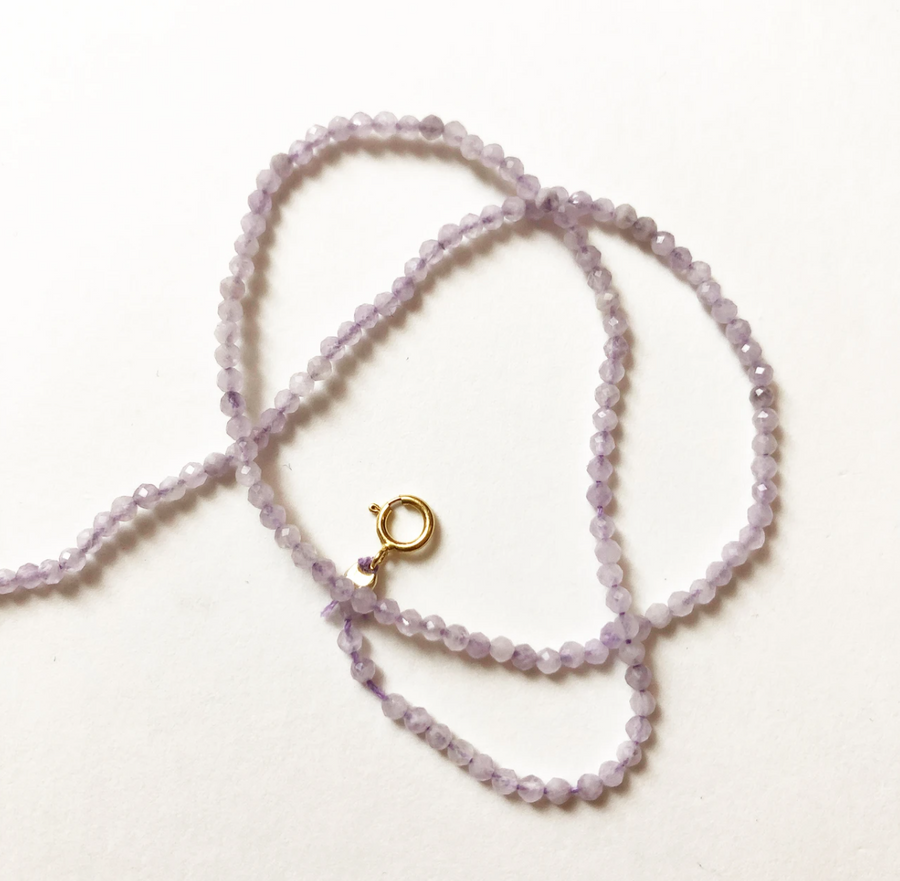 Lavender Amethyst Necklace