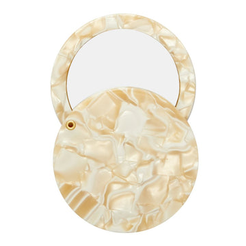 Circle Mirror in Ivory