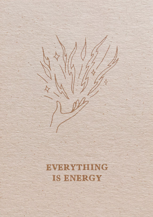 Mini Card Everything Is Energy