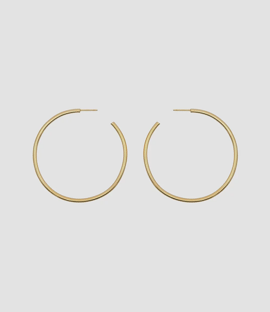The Hoops 5 in Gold