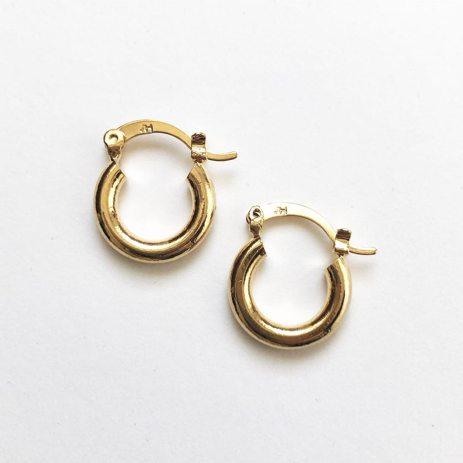 Hoola Hoop Earrings Medium