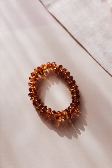 Baltic Amber Napkin Ring