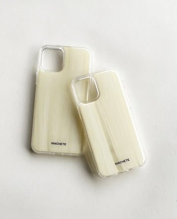 iPhone Case in Alabaster