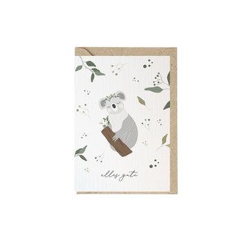 Greeting Card Koala