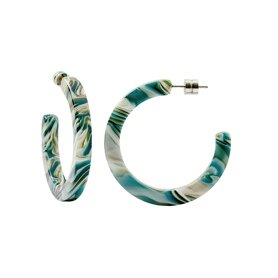 Midi Hoops in Stromanthe