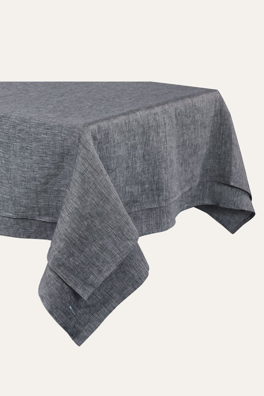 Linen Tablecloth in Grey