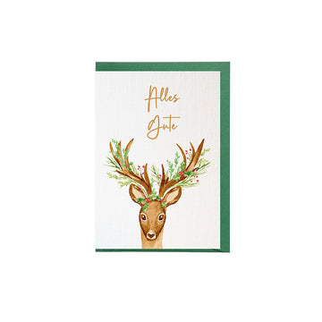 Greeting Card Deer
