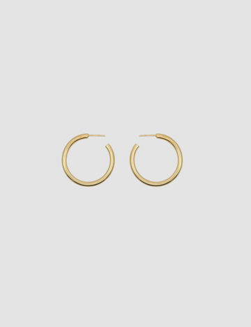 Vintage Hoops Round in Gold