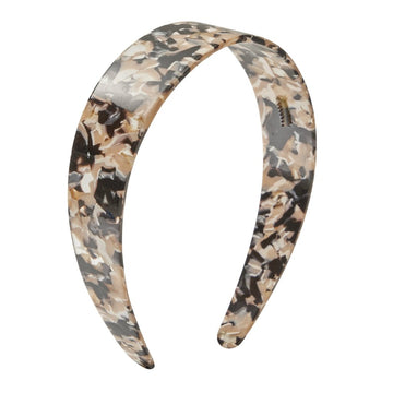 Wide Headband in Abalone