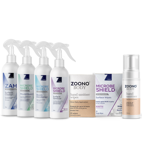 Healthy Hygienic Home Pack | 7 Items - Zoono