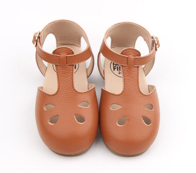 Vintage Tan Leather Sandals