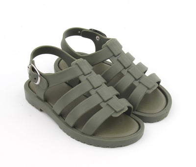 Khaki Jelly Sandals
