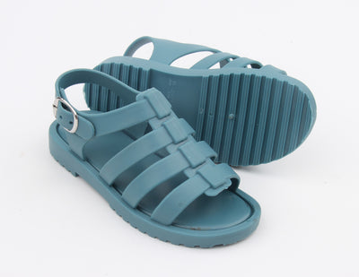 Blue Jelly Sandals