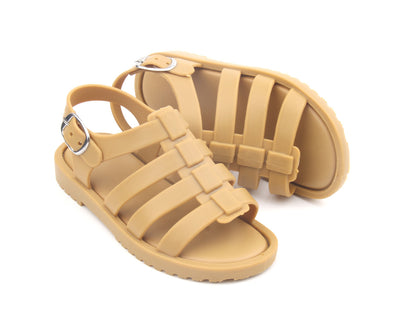 Mustard Jelly Sandals