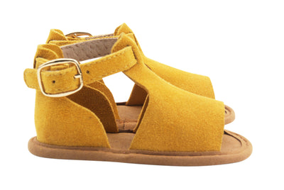Honey Mustard Eldorado Sandals