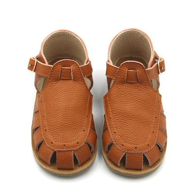 Tan Leather Gracie Sandals