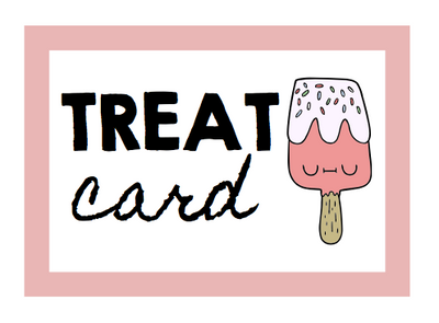 TREAT CARDS