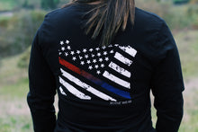 Load image into Gallery viewer, Long Sleeve Flag Shirt