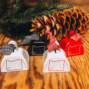 Cow Bell Ornaments
