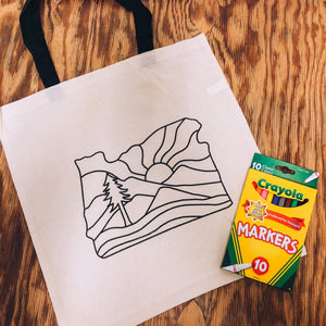 Coloring Tote