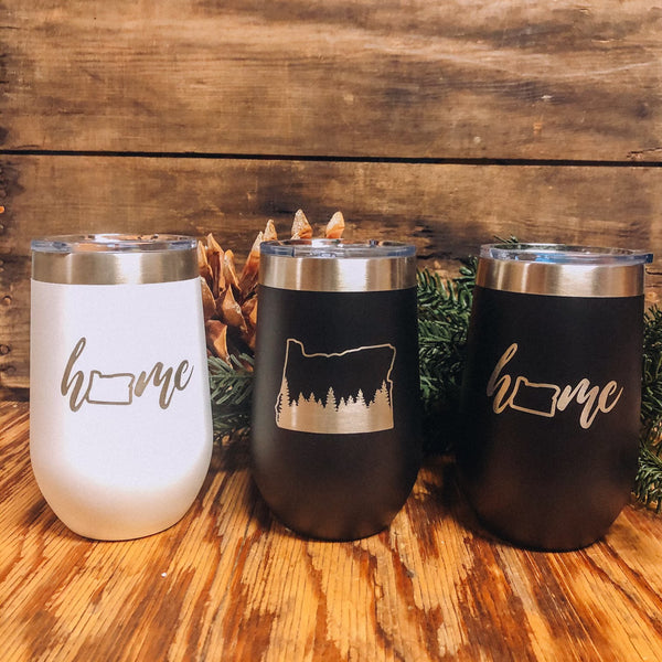 Insulated 16 oz. Wine Tumbler
