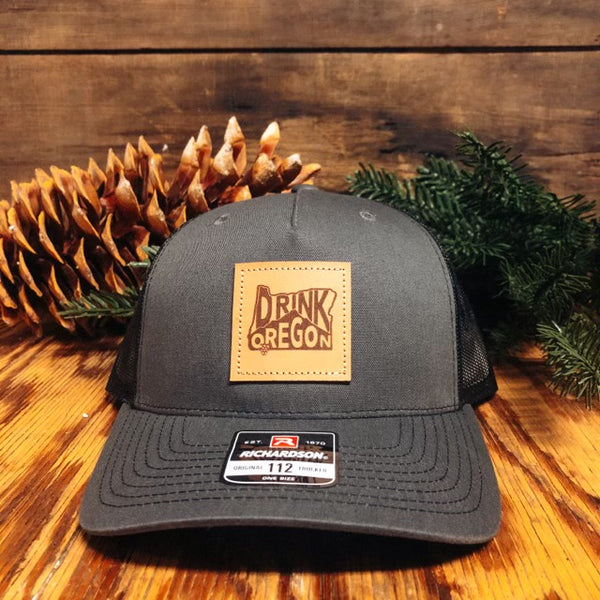 Drink Oregon Patch Hat