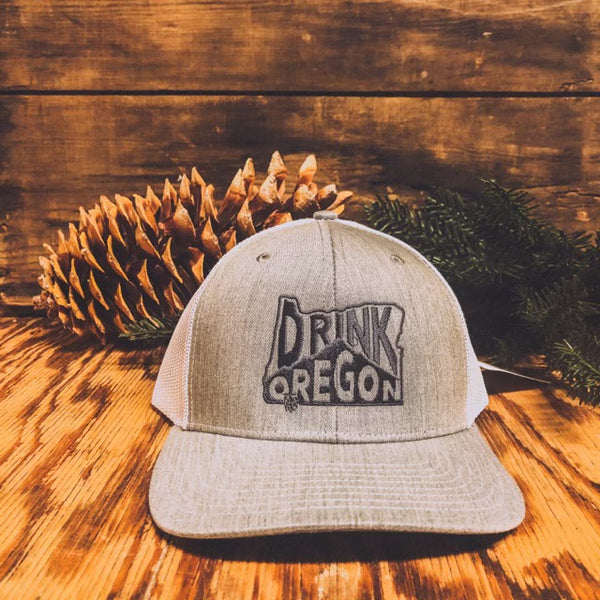 Drink Oregon Embroidered Hat